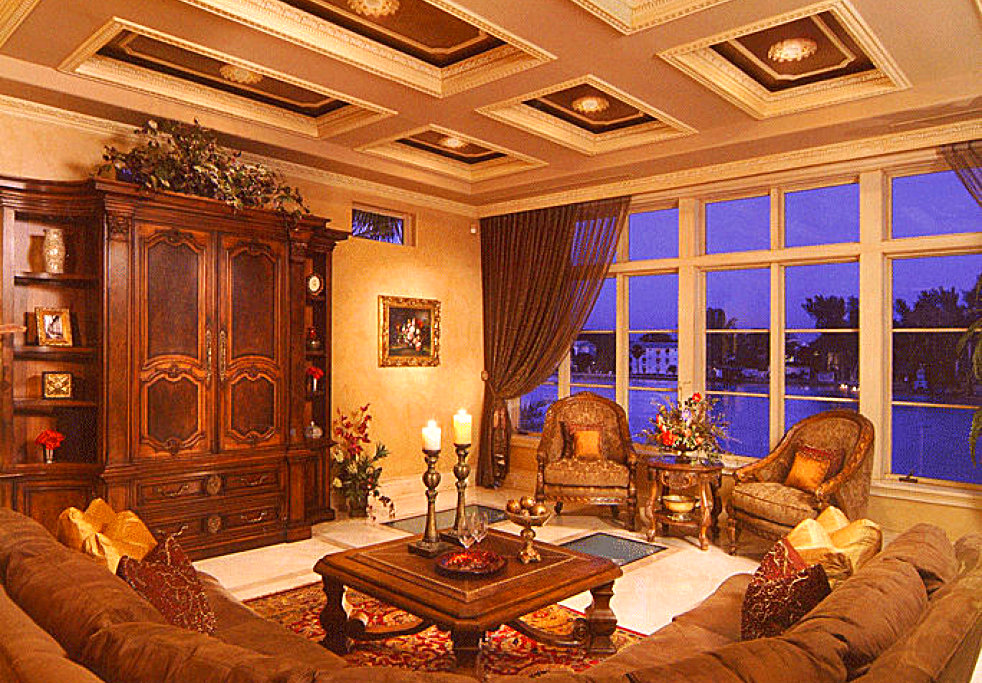 portrait of a house indoor view